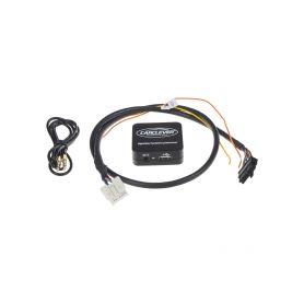 Stualarm Dual-fanfára 465/410mm, nerezová, 12V, elektromagnetická 1-sn-404