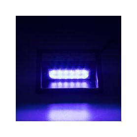 KF738BLU PREDATOR LED vnitřní, 6x LED 5W, 12/24V, modrý, ECE R65 Vnitřní