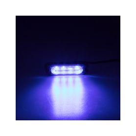 KF004EM5WBLU SLIM výstražné LED světlo vnější, modré, 12-24V, ECE R65 Vnější s ECE R65