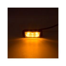 KF003EM5W SLIM výstražné LED světlo vnější, oranžové, 12-24V, ECE R65 Vnější s ECE R65