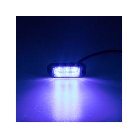 KF003EM5WBLU SLIM výstražné LED světlo vnější, modré, 12-24V, ECE R65 Vnější s ECE R65