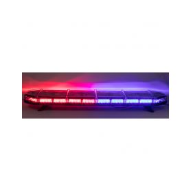 SRE1-164BLRE LED rampa 1149mm, modro-červená, 12-24V, homologace ECE R10 Modré / červené 600-1400mm