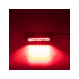 911-621RED PROFI výstražné LED světlo vnější, červené, 12-24V, ECE R10 Vnější s ECE R65