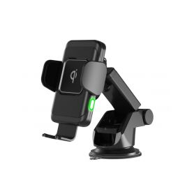 Univerzální QI držák pro telefony motoricky ovládaný