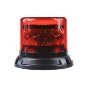 911-C24FRED PROFI LED maják 12-24V 24x3W červený 133x110mm, ECE R10 LED pevná montáž