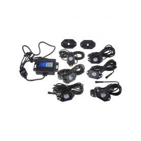 LEDROCKRGB4 LED podsvětlení podvozku RGB 12-24V, Bluetooth, 18x3W LED pásky
