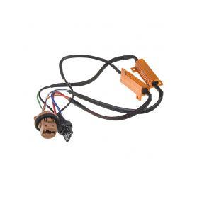 LEDR-21T20 Rezistor pro žárovku T20 (7443) 12V/21W, 6 ohm, hliníkové pouzdro Rezistory, eliminátory