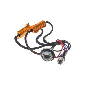 LEDR-21BAY15D Rezistor pro žárovku BAY15D 12V/21W, 6 ohm, hliníkové pouzdro Rezistory, eliminátory