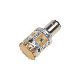 95CB158 LED BAY15D bílá/oranžová, CAN-BUS, 12V, 40LED/3030SMD Patice BAY15D