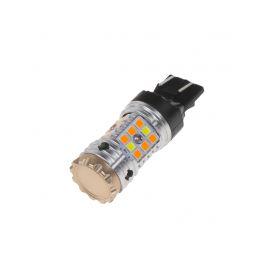 95CB242 LED T20 (7443) bílá/oranžová, CAN-BUS, 12V, 32LED/3030SMD Patice T20