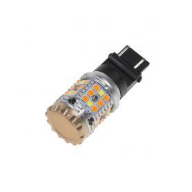 95CB276 LED T20 (3157) bílá/oranžová, CAN-BUS, 12V, 40LED/3030SMD Patice T20