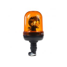 WL86HRH2 Halogen maják, 12 i 24V oranžový na držák, ECE R65 Rotační