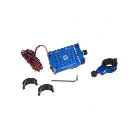 R12USB Univerzální držák pro telefony na kolo, motocykl s USB nabíječkou Držáky mobilních telefonů