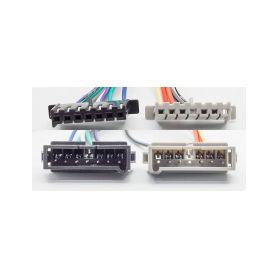 CarClever Anténní adaptér GPS SMB samec/MMCX samec; RG174, 15 cm 1-67067