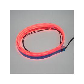 LFT60SLIMRED LED silikonový extra plochý pásek červený 12 V, 60 cm LED pásky