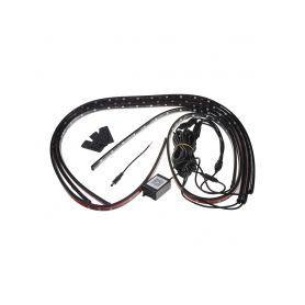 95RGB-SET07 LED podsvětlení vnitřní/vnější RGB 12V, bluetooth, 4 pásky LED pásky