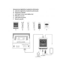 Vidličky pro autorádia Sony 2-373060