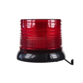 WL61RED x LED maják, 12-24V, červený magnet LED magnetické