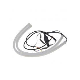 LED pásek, dynamické blinkry oranžová / poziční světla bílá, 45 cm