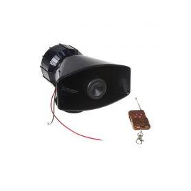 Hobby výstražný systém, siréna 4-tónová 100W, dálkové ovládání
