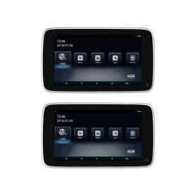 """DS-X108BW Set LCD monitorů 10,8"""" OS Android/USB/SD s držákem na opěrku pro BMW Monitory na opěrky"""