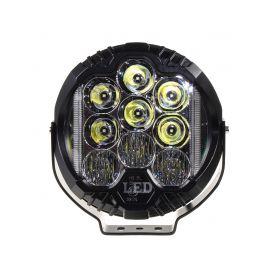 WLD901 LED světlo kulaté, 70W, ø195mm, ECE R10/R112 Přídavná světla