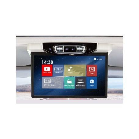 """DS-157AMC Stropní LCD monitor 15,6"""" šedý s OS. Android HDMI / USB, pro Mercedes-Benz V260 Stropní monitory"""