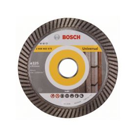 BOSCH 2608602575 Diamantový dělicí kotouč Expert for Universal Turbo - 125 x 22,23 x 2,2 x 12 mm - 31651405 Diamantové řezné ...