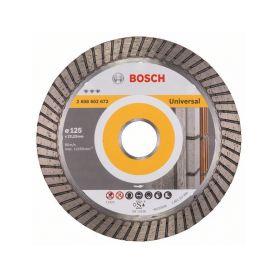 BOSCH 2608602672 Diamantový dělicí kotouč Best for Universal Turbo - 125 x 22,23 x 2,2 x 12 mm - 3165140581 Diamantové řezné ...