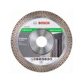 BOSCH 2608615077 Diamantový dělicí kotouč Best for Hard Ceramic - 125 x 22,23 x 1,4 x 10 mm, Diamantové řezné kotouče