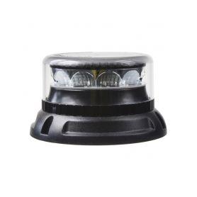 911-C12FCL PROFI LED maják 12-24V 12x3W oranžový čirý 133x76mm, ECE R10 LED pevná montáž
