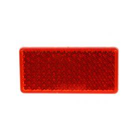 TRL51RED Zadní (červený) odrazový element - obdélník 95 x 45mm nalepovací Zadní + kombinovaná