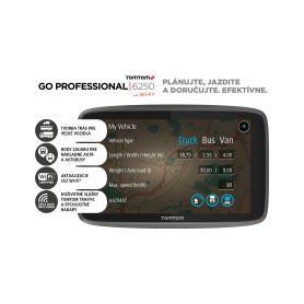 TomTom GO Professional 6250 EU Přenosné GPS navigace