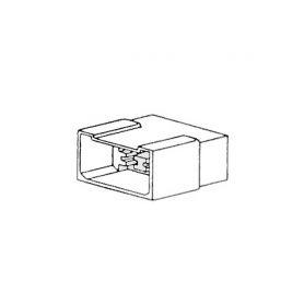 Plastové zásuvky  1-42011 Zásuvka 6-ti pólová, samička 42011