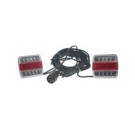 TRL13LED 2x sdružená lampa zadní LED včetně kabeláže a připojení 7pin Zadní + kombinovaná