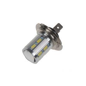 95H706 LED H7 bílá 10-30V, 12SMD 5630 + 3W Patice H7
