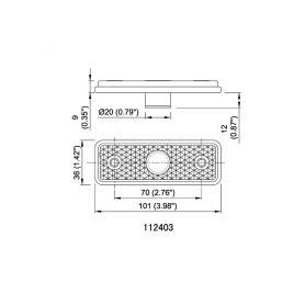 LEB LEB TVM /L 12V elektromagnetický klakson 2-744292