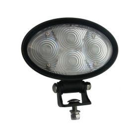 PROFI LED výstražné bodové světlo 10-48V 4x3W modrý 143x122mm, ECE R10