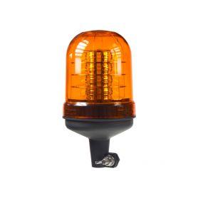 WL93HR LED maják, 12-24V, oranžový na držák, ECE R65 Majáky na tyč