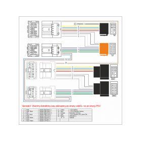 AV adaptéry - kabely  1-xs-3110 RCA audio/video kabel Hi-Q line, 1m xs-3110