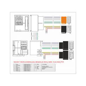 AV adaptéry - kabely  1-xs-3210 RCA audio/video kabel Hi-End line, 1m xs-3210