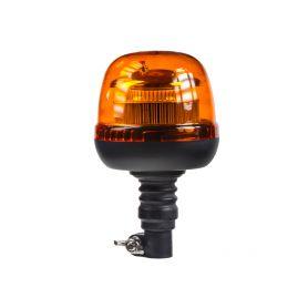 WL71HR LED maják, 12-24V, 45xSMD2835 LED, oranžový, na držák, ECE R65 Majáky na tyč