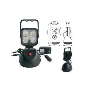 WL-LI15 AKU LED světlo s magnetem, 5x3W, 220x115mm Ruční svítilny