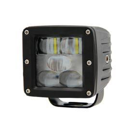 WA-009B PROFI LED výstražné pruhy 10-80V 5LED modrý 82x75mm Pracovní světla a rampy