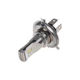 95CSP-H4-31 CSP LED H4 bílá, 12-24V, 3x10W, chrom Patice H4