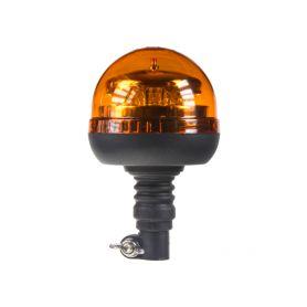 911-90HR PROFI LED maják 12-24V 12x3W oranžový na držák, ECE R65 Majáky na tyč