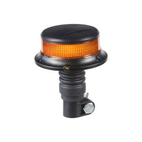 LED maják, 12-24V, 18x1W oranžový na držák, ECE R65 R10