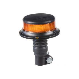 WL310HR LED maják, 12-24V, 18x1W oranžový na držák, ECE R65 R10 Majáky na tyč