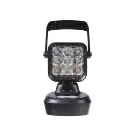 AKU LED světlo přenosné, bílá/oranžová, 18x 1W, 103x105x201mm, ECE R10