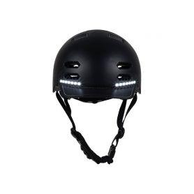 SAFE-TEC 2003-152 SK8 Black M (55cm - 58cm) Chytré bluetooth helmy na kolo